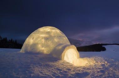 ice igloo