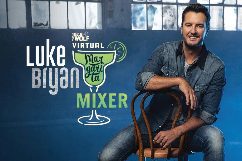 Luke Bryan virtual margarita mixer