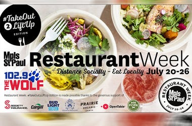 Mpls St. Paul Magazine Restaurant Week with 102.9 The Wolf