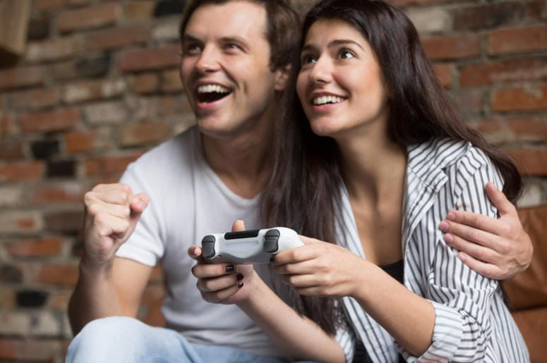 IMPROVE YOUR RELATIONSHIP BY PLAYING VIDEO GAMES TOGETHER