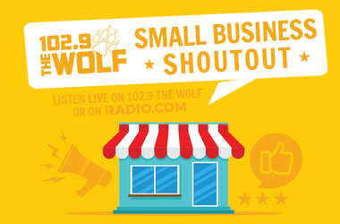 102.9 The Wolf Small Business Shoutout