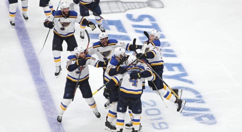 St. Louis Blues v. Boston Bruins Stanley Cup Final Game 2