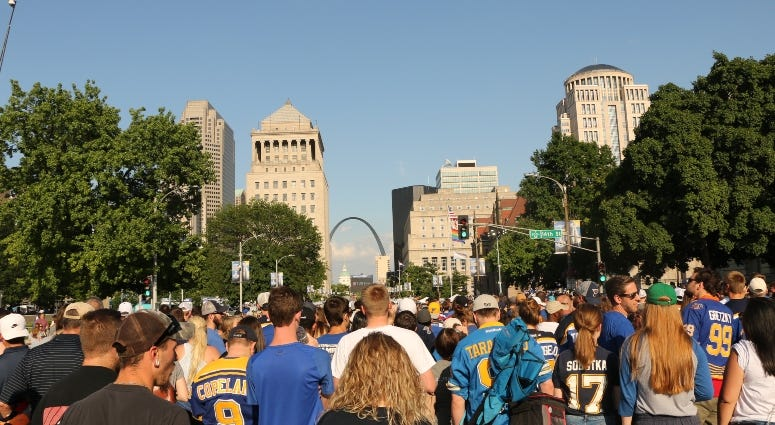 St. Louis Blues watch party Game 6 Stanley Cup Final