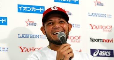 Yadier Molina, St. Louis Cardinals catcher.