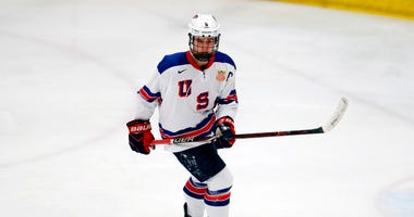 ack Hughes, expected to be a top pick in the next NHL hockey draft