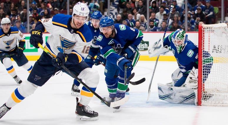 Blues vs. Canucks