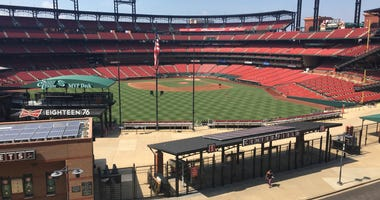 View from the Budweiser Brew House Bud Deck