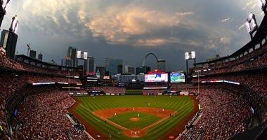 View of Busch Stadium