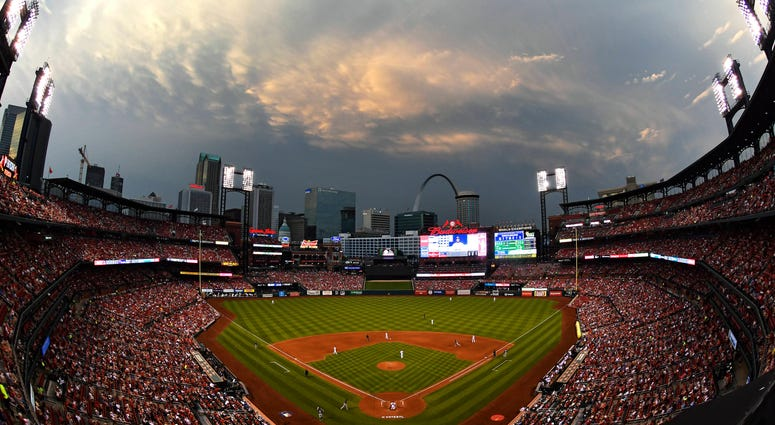 View of Busch Stadium