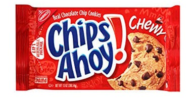 Voluntary recall of Chewy Chips Ahoy