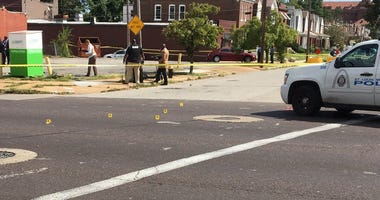 Police officer involved shooting at Union & Wahada in St. Louis.