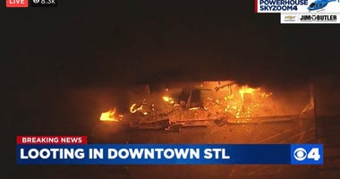 WATCH: 7-Eleven looted, set on fire in downtown St. Louis