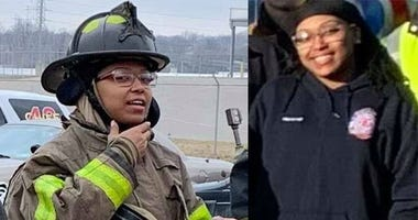Arlydia Bufford, firefighter, was shot in an Applebees on St. Charles Rock Road, according to officials.