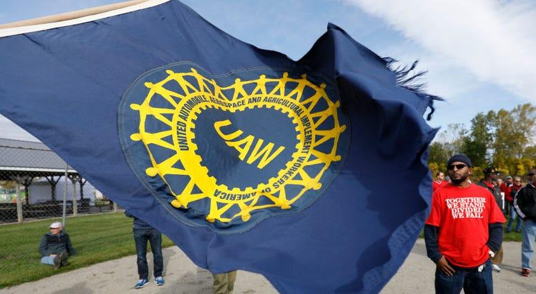 UAW flag