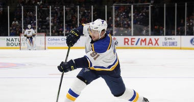Tarasenko returns to St. Louis for evaluation on shoulder