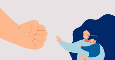 Domestic violence hotline calls have troubling drop