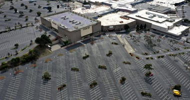 mall, empty, coronavirus