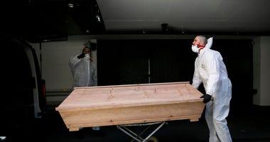 morgue, coronavirus