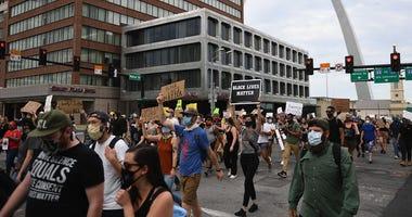 protest, St. Louis