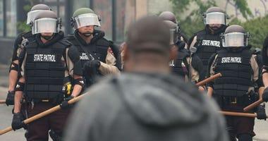 police, minneapolis, riot