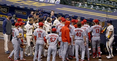 benches clear