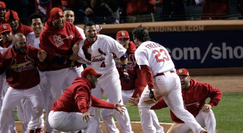 Cardinals, 2011, David Freese