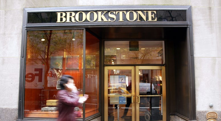 A Brookstone store is seen at Rockefeller Center October 29, 2003 in New York City.