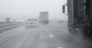 ice, snow, highway