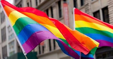 LGBTQ Pride Rainbow flag