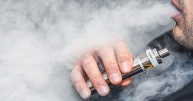 vaping e-cigarettes