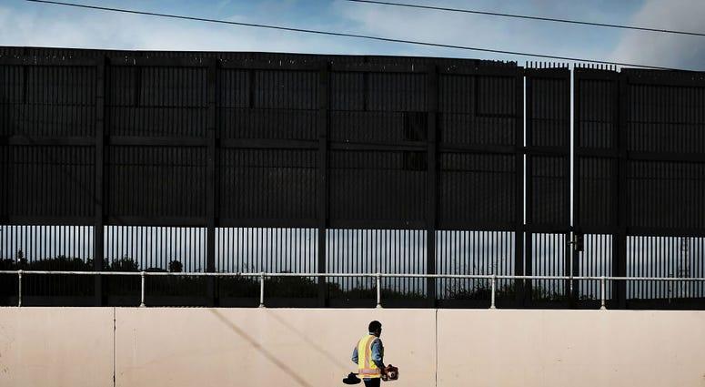 Border wall in Texas