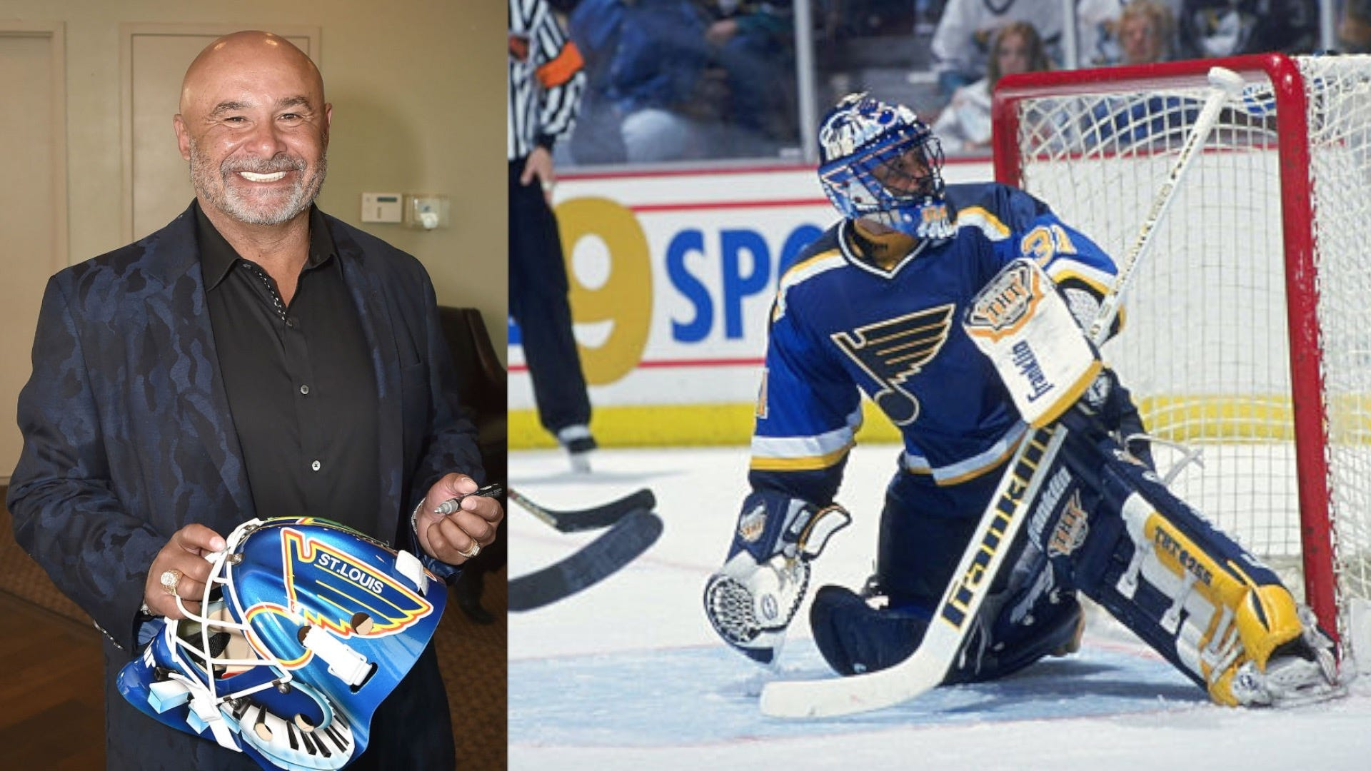 St Louis Blues Grant Fuhr Documentary Comes To St Louis Kmox Am