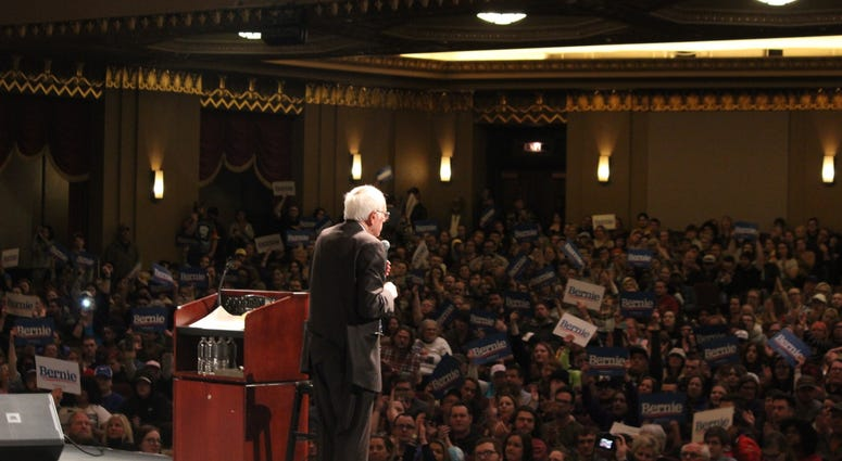 Bernie Sanders in St. Louis Missouri