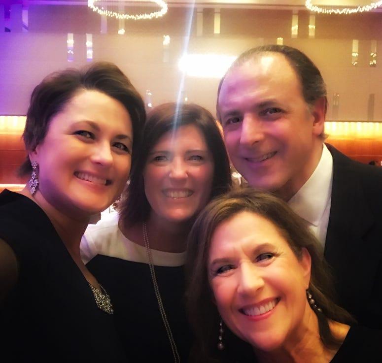 Debbie Monterrey, Covenant House Executive Director Sue King, Paul Kindl, Donna Kindl