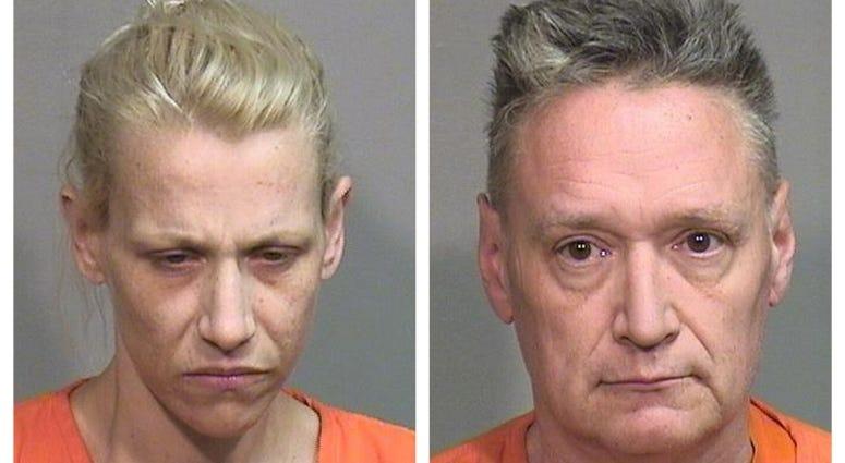 JoAnn Cunningham, left, and Andrew Freund Sr.