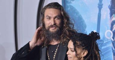 Jason Momoa and Lisa Bonet at the Warner Bros Pictures' %22Aquaman%22 .jpg