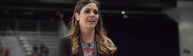 Katie Nolan shares college football trash talk advice