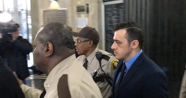 Nathaniel Hendren was in court Monday morning, but his appearance lasted just one minute