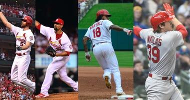 St. Louis Cardinals pitchers who rake.