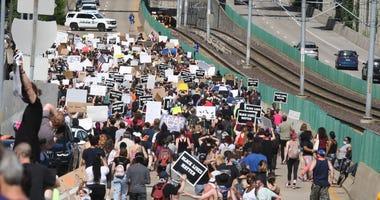 protest, Ferguson, St. Louis, George Floyd