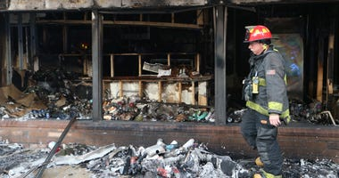 fire damage, St. Louis