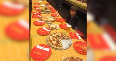 6-year-old Teddy Mazzini's birthday party