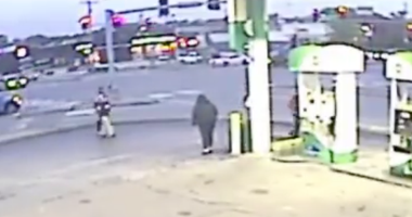 Video of altercation at Florissant BP station.
