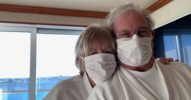 Peggy Jones-Koelling, a former Hazelwood resident, with her husband Norman, quarantined for possible exposure to the Corona virus.
