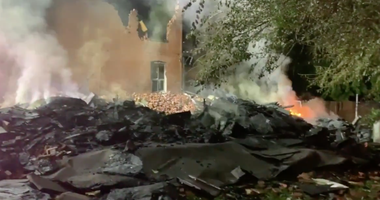 home explosion, fire