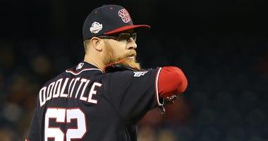 Washington Nationals relief pitcher Sean Doolittle