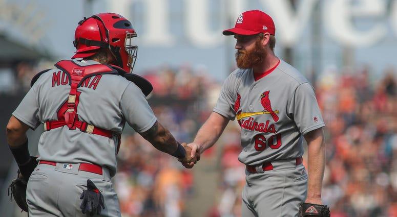 St. Louis Cardinals, John Brebbia and Yadier Molina.