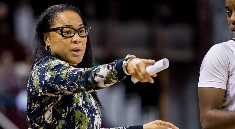 South Carolina Gamecocks head coach Dawn Staley