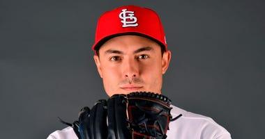 St. Louis Cardinals starting pitcher Conner Greene