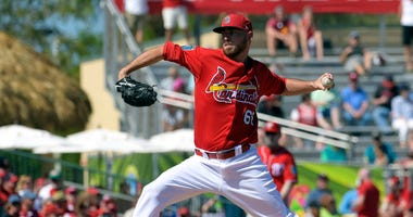 St. Louis Cardinals starting pitcher Austin Gomber